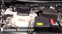 2012 Toyota Camry LE 2.5L 4 Cyl. Líquido limpiaparabrisas