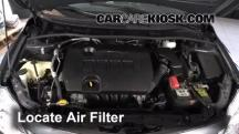 2012 Toyota Corolla LE 1.8L 4 Cyl. Air Filter (Engine)
