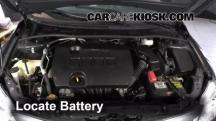 2012 Toyota Corolla LE 1.8L 4 Cyl. Battery