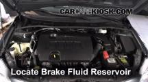 2012 Toyota Corolla LE 1.8L 4 Cyl. Brake Fluid