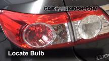 2012 Toyota Corolla LE 1.8L 4 Cyl. Lights