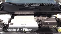 2012 Toyota Highlander 3.5L V6 Air Filter (Engine)