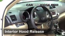 2012 Toyota Highlander 3.5L V6 Capó