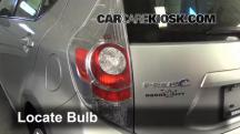 2012 Toyota Prius C 1.5L 4 Cyl. Lights