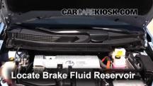 2012 Toyota Prius V 1.8L 4 Cyl. Brake Fluid