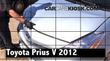 2012 Toyota Prius V 1.8L 4 Cyl. Review