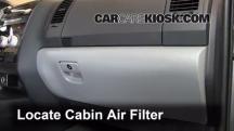 2012 Toyota Sequoia SR5 4.6L V8 Air Filter (Cabin)