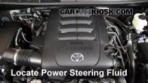 2012 Toyota Sequoia SR5 4.6L V8 Power Steering Fluid