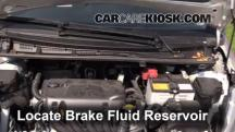 2012 Toyota Yaris L 1.5L 4 Cyl. Hatchback (4 Door) Brake Fluid