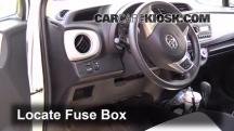 2012 Toyota Yaris L 1.5L 4 Cyl. Hatchback (4 Door) Fuse (Interior)
