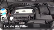 2012 Volkswagen GTI 2.0L 4 Cyl. Turbo Hatchback (2 Door) Air Filter (Engine)