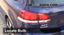 2012 Volkswagen GTI 2.0L 4 Cyl. Turbo Hatchback (2 Door) Luces