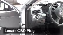 2012 Volkswagen Passat S 2.5L 5 Cyl. Sedan (4 Door) Compruebe la luz del motor