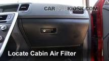 2012 Volvo S60 T5 2.5L 5 Cyl. Turbo Air Filter (Cabin)