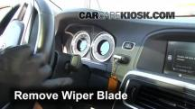 2012 Volvo S60 T5 2.5L 5 Cyl. Turbo Windshield Wiper Blade (Front)