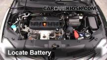 2013 Acura ILX 2.0L 4 Cyl. Battery