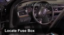 2013 Audi A6 Quattro Premium 3.0L V6 Supercharged Fusible (interior)