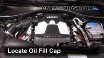 2013 Audi A6 Quattro Premium 3.0L V6 Supercharged Oil