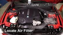 2013 BMW 335i xDrive 3.0L 6 Cyl. Turbo Sedan Air Filter (Engine)