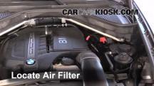 2013 BMW X5 xDrive35i 3.0L 6 Cyl. Turbo Filtro de aire (motor)