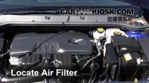 2013 Buick Verano 2.4L 4 Cyl. FlexFuel Air Filter (Engine)