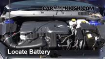 2013 Buick Verano 2.4L 4 Cyl. FlexFuel Battery