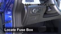 2013 Buick Verano 2.4L 4 Cyl. FlexFuel Fusible (interior)