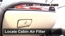 2013 Cadillac ATS Performance 3.6L V6 FlexFuel Air Filter (Cabin)