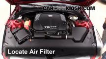 2013 Cadillac ATS Performance 3.6L V6 FlexFuel Air Filter (Engine)