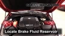 2013 Cadillac ATS Performance 3.6L V6 FlexFuel Brake Fluid