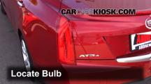 2013 Cadillac ATS Performance 3.6L V6 FlexFuel Lights