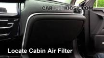 2013 Cadillac XTS 3.6L V6 Filtro de aire (interior)
