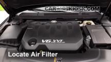 2013 Cadillac XTS 3.6L V6 Filtro de aire (motor)