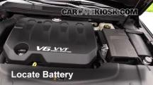 2013 Cadillac XTS 3.6L V6 Batería