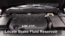 2013 Cadillac XTS 3.6L V6 Líquido de frenos