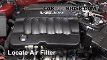 2013 Chevrolet Impala LT 3.6L V6 FlexFuel Air Filter (Engine)