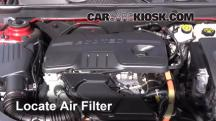 2013 Chevrolet Malibu Eco 2.4L 4 Cyl. Air Filter (Engine)