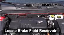 2013 Chevrolet Malibu Eco 2.4L 4 Cyl. Brake Fluid