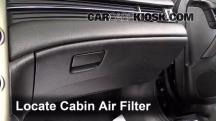 2013 Chevrolet Malibu LTZ 2.5L 4 Cyl. Air Filter (Cabin)