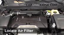2013 Chevrolet Malibu LTZ 2.5L 4 Cyl. Air Filter (Engine)