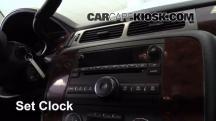 2013 Chevrolet Tahoe LT 5.3L V8 FlexFuel Clock