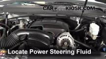 2013 Chevrolet Tahoe LT 5.3L V8 FlexFuel Power Steering Fluid