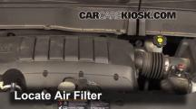 2013 Chevrolet Traverse LS 3.6L V6 Air Filter (Engine)