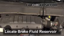 2013 Chevrolet Traverse LS 3.6L V6 Brake Fluid