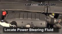 2013 Chevrolet Traverse LS 3.6L V6 Power Steering Fluid