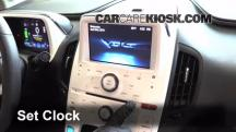 2013 Chevrolet Volt 1.4L 4 Cyl. Clock