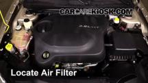 2013 Chrysler 200 Limited 3.6L V6 FlexFuel Sedan Air Filter (Engine)