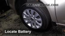 2013 Chrysler 200 Limited 3.6L V6 FlexFuel Sedan Battery