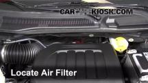 2013 Chrysler Town and Country Touring 3.6L V6 FlexFuel Filtro de aire (motor)