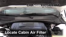 2013 Dodge Charger SE 3.6L V6 FlexFuel Filtro de aire (interior)